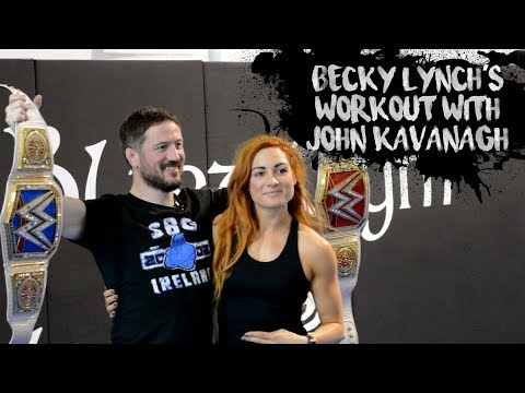 Becky Lynch's Workout With John Kavanagh • Win Or Learn