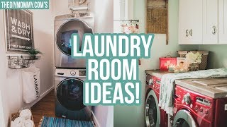Laundry Room Ideas | Decor, Organization & 3 Tours!