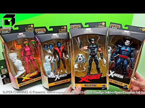New MARVEL LEGENDS X-Men And X-Force WENDIGO Build-a-Figure (Complete Set) From HASBRO! UNBOXING!