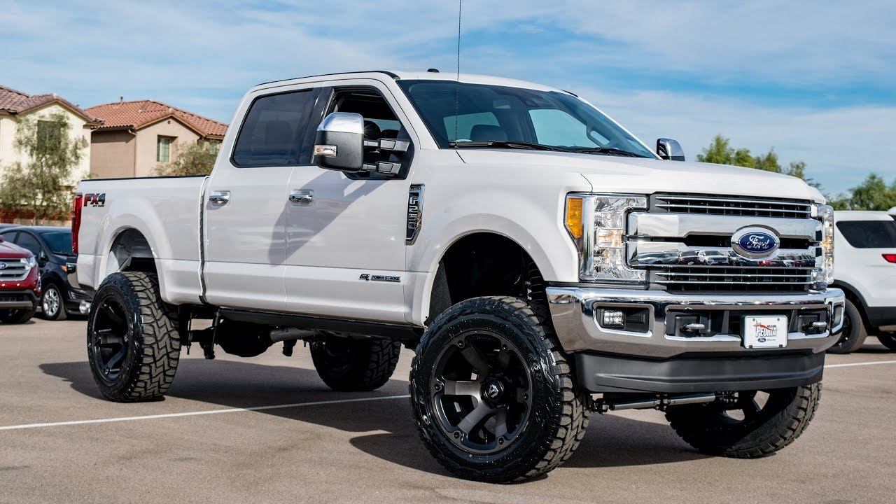 Ford F250 Lifted