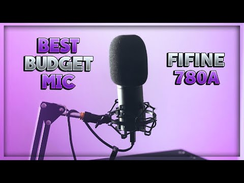 Best Budget Gaming/Streaming Microphone - Fifine 780A Review