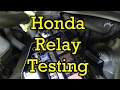 Honda Relay Testing