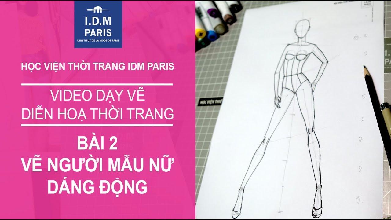 Vẽ thiết kế thời trang I Bài 2 VẼ DÁNG NGƯỜI CHUYỂN ĐỘNG