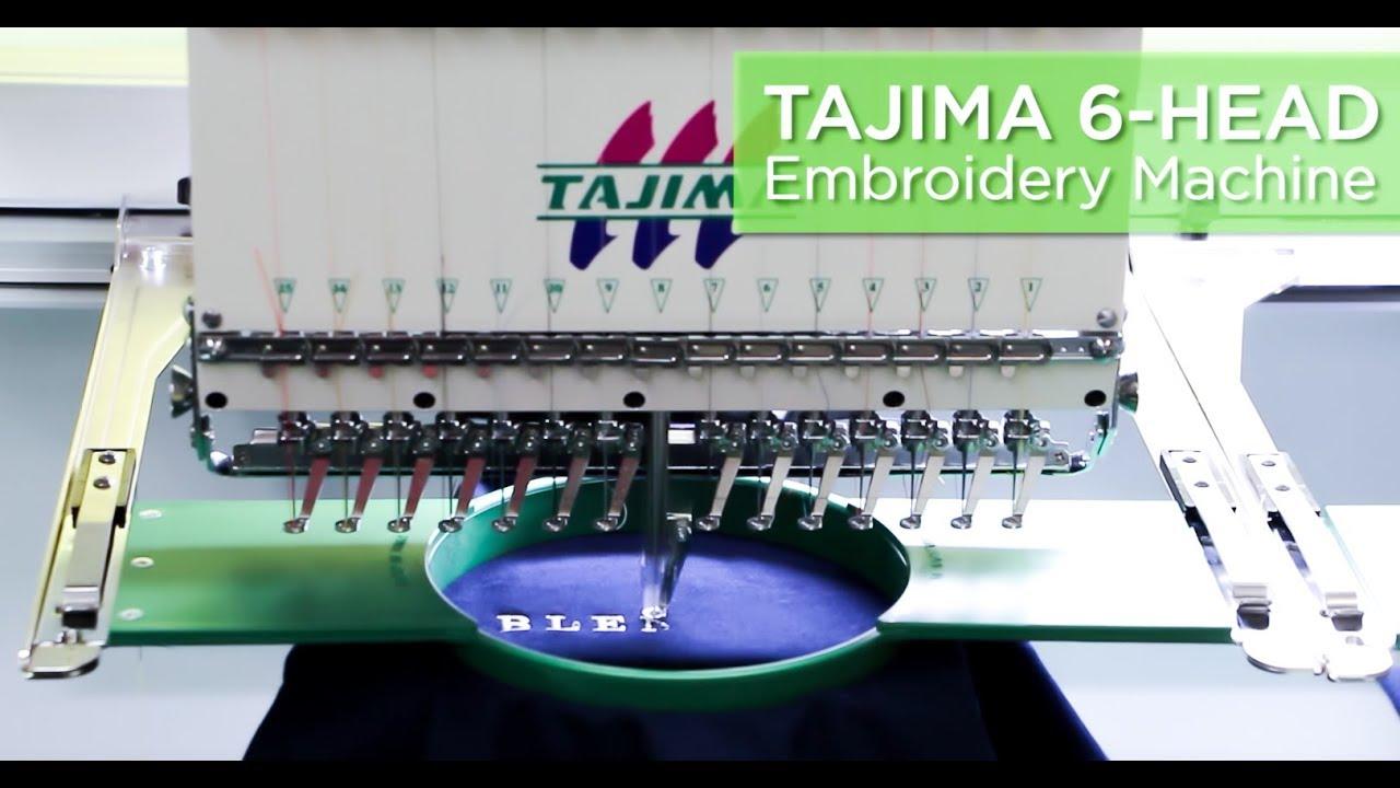 Tajima Embroidery Machine: What You Should Know?