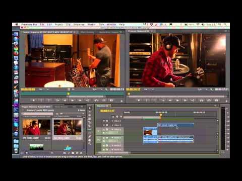 Adobe Premiere Pro CS6 Tutorial 1 - Basic Editing