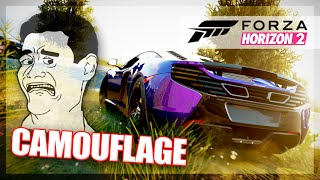 Forza Horizon 2 - Camouflage Game! (Random Funny Moments)
