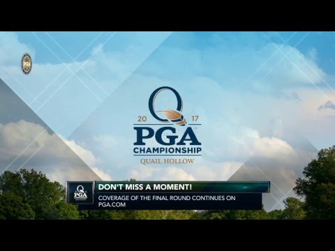 2017 PGA Championship Final Round Coverage