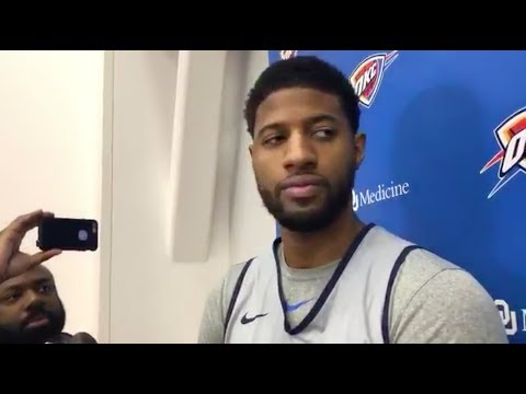 Paul George on winning MVP This Year And Being in the early conversation for it