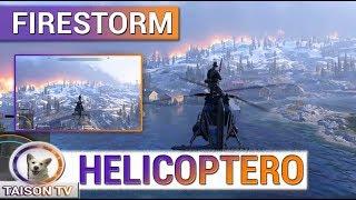 FIRESTORM Primer Gameplay Filtrado el Helicoptero y mas detalles - Battlefield V