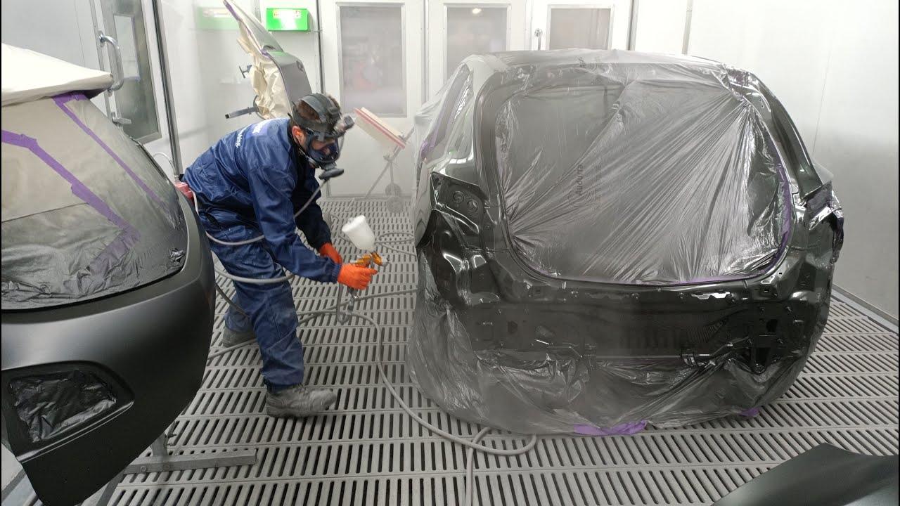 Apprentice Spray Painter: Mazda 3