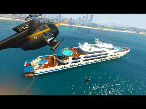 STEALING PEOPLE'S YACHTS!