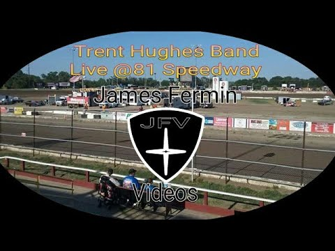 """Trent Hughes Band #10, """"Steady At the Wheel"""" (Cover), 81 Speedway, 2017"""