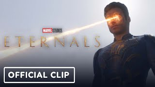 """Marvel's Eternals - """"Run"""" Official Clip (2021) Richard Madden, Angelina Jolie"""
