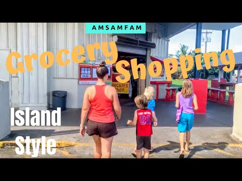 GROCERY SHOPPING | COST of LIVING IN AMERICAN SAMOA | Cost-U-Less, KS Mart, Mini-Marts
