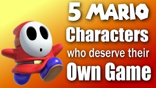 5 Mario Characters Who Deserve Their Own Game - Contest Results