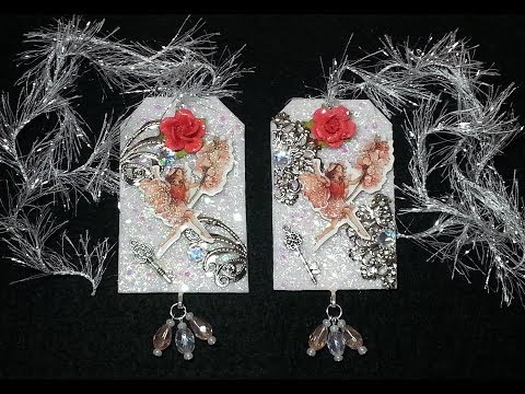 DIY~Fairy Tags For Altered Art, Craft Projects And MORE! Easy!