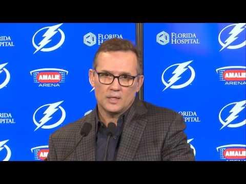 Tampa Bay Lightning GM Steve Yzerman explains Ben Bishop trade