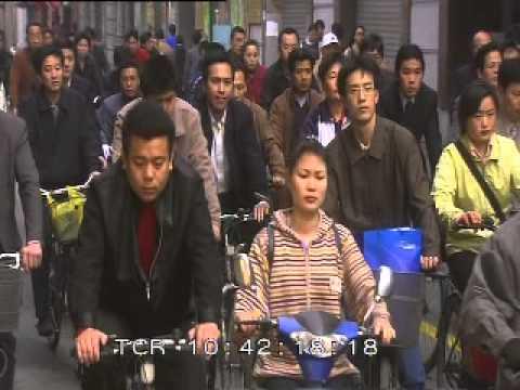 Shanghai, China, Bicycle Traffic