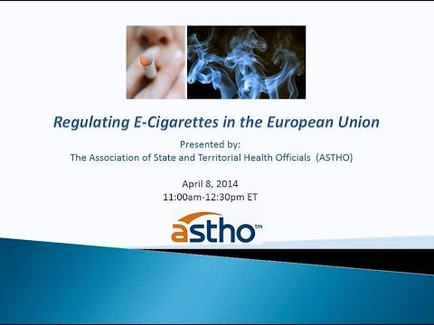 Regulating E-Cigarettes in the European Union