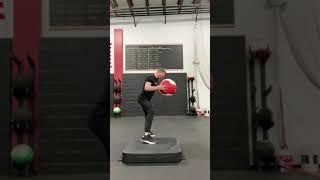 EricCressey.com: Rear-Foot Elevated Rotational Medicine Ball Shotput