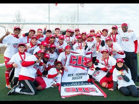 2014 CIS Men's Soccer Championship - York University Lions crowned national champs