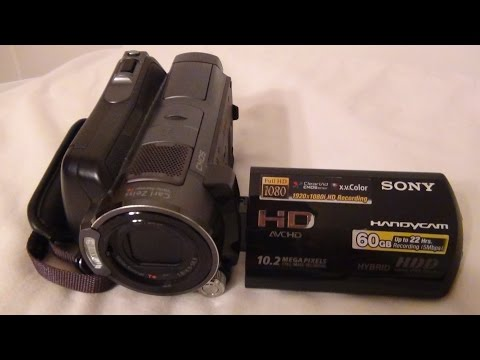 2008 Sony Handycam HDR SR11 Extreme Review And Test