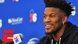 76ers wanting to win makes me smile - Jimmy Butler at introductory news conference | NBA 2018-19