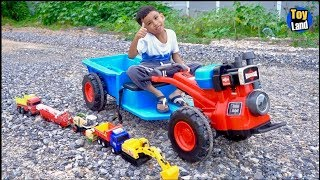 TOYLAND | Tractors for Kids Ride on Toy Vehicles