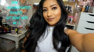 Get Ready With Me Using NEW LAColors Cosmetics Products - Alexisjayda