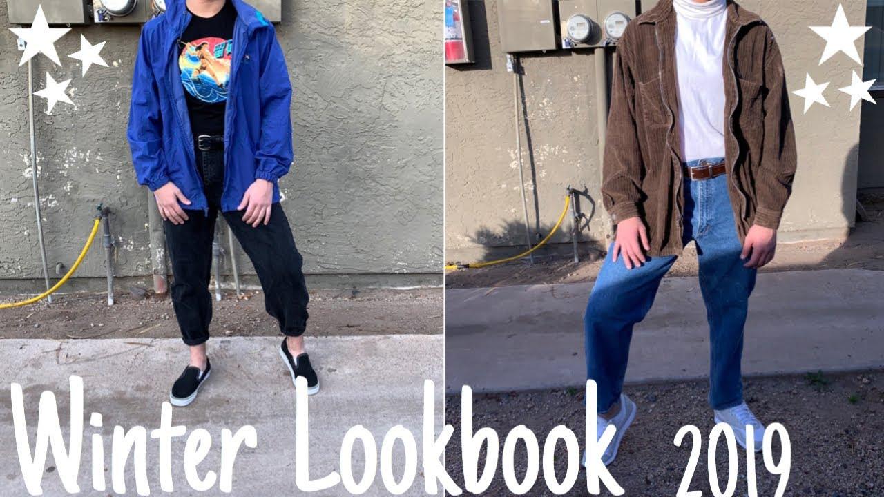 8 simple outfit ideas! Winter lookbook 2019! 2