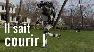 Le robot de Boston Dynamics sait faire du footing !
