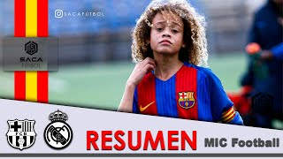 FC Barcelona vs Real Madrid MIC Football 15 Xavi Simons U-12