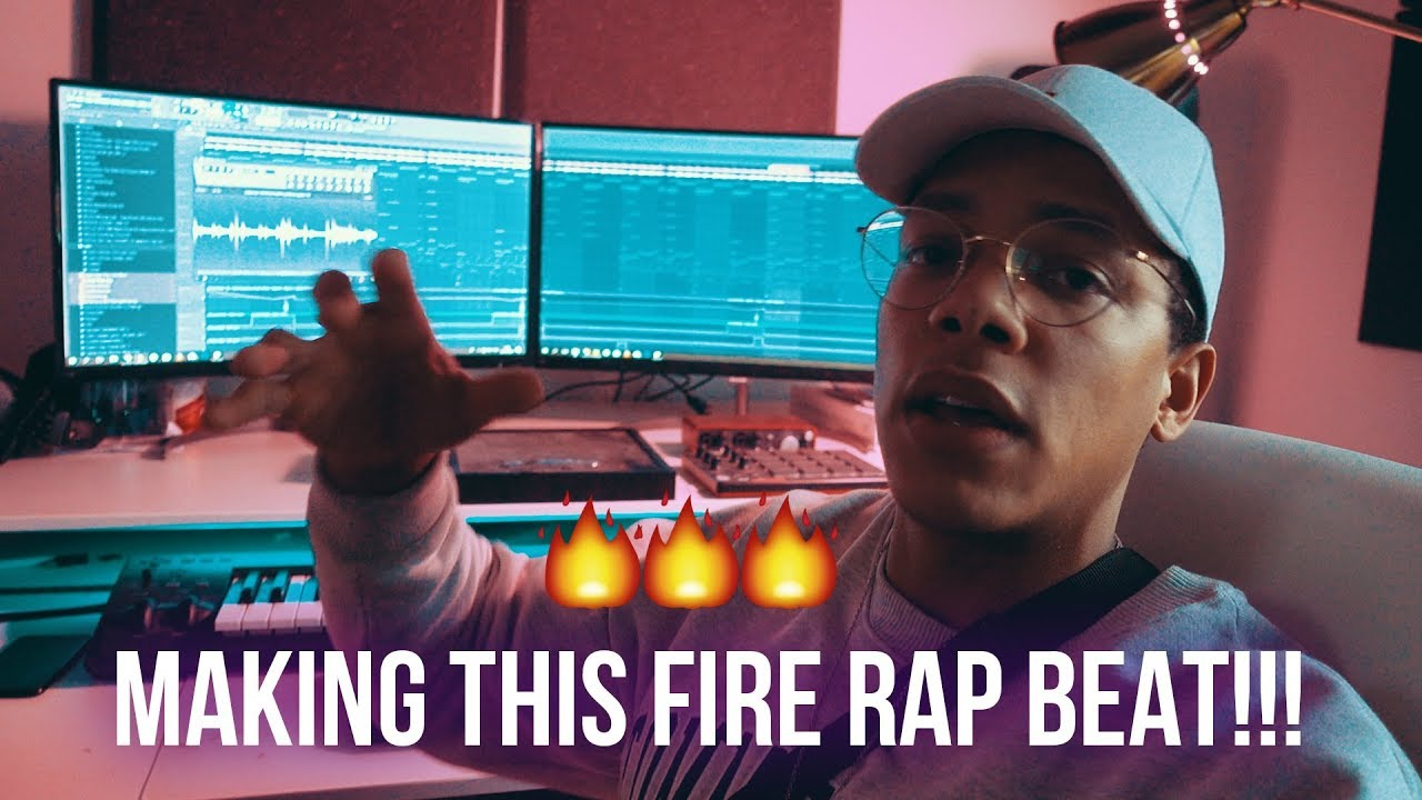how to create a rap beat