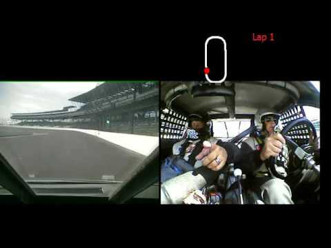 Driving the Indianapolis Motor Speedway