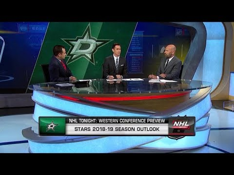 NHL Tonight: Season previews the 2018-19 Dallas Stars  Oct 1,  2018
