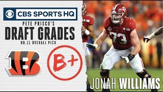 Jonah Williams will be a plug and play for the Bengals | NFL Draft 2019 | CBS Sports HQ