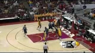 NBA 2008-09 Preseason:LA Lakers VS Utah Jazz [HD]