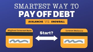 Avalanche vs Snowball: Which debt payoff method is best?