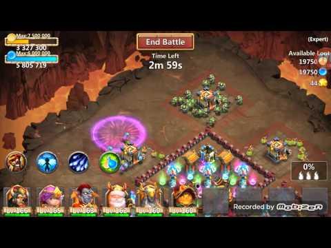 Castle Clash Expert 7-6 - 3 Flame
