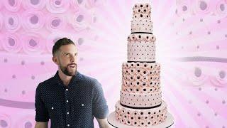 Kim Zolciak-Biermann inspired giant wedding cake! YOU'VE BEEN DESSERTED
