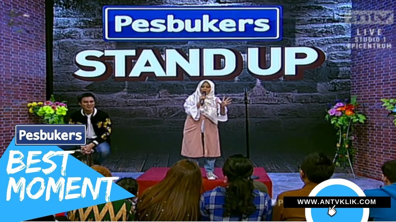 baim wong di bully musdalifah stand up comedy pesbukers. Black Bedroom Furniture Sets. Home Design Ideas