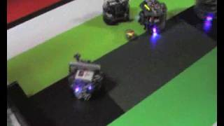2008 Australian National Robocup Junior Soccer Highlights
