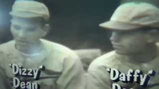 Dizzy & Daffy Dean St. Louis Cardinals Interview