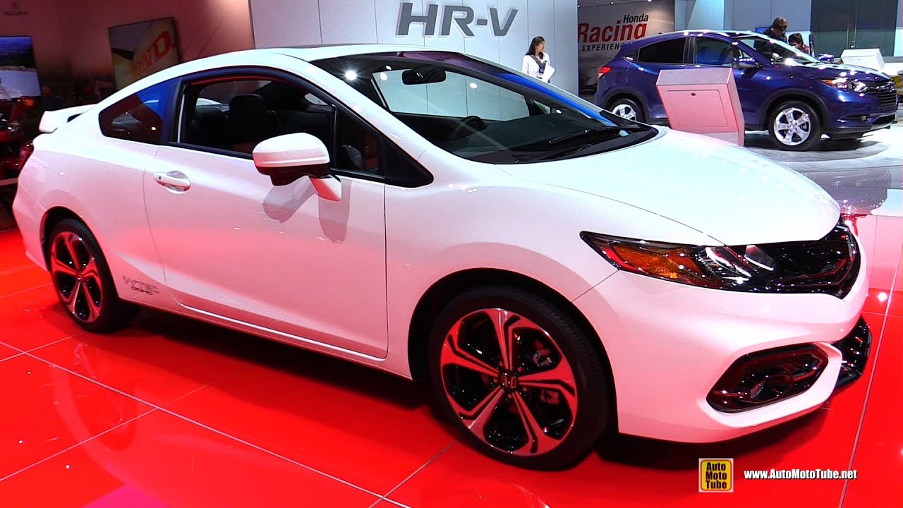 2015 Honda Civic Si Coupe   Exterior And Interior Walkaround   2014 LA Auto  Show   YouTube