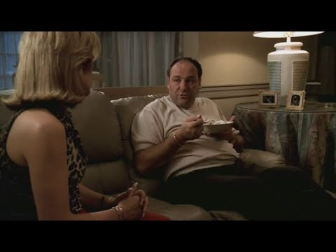Carmela And Tony Talk About Money And Future - The Sopranos HD