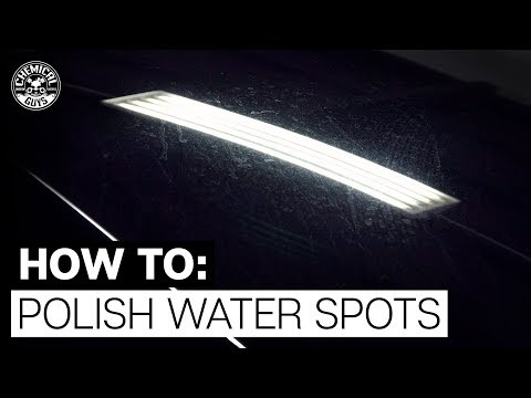 How To Polish Glass: Remove Water Spots Before Etching! - Chemical Guys