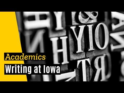Writing at Iowa