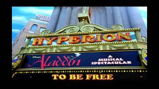 To be free Backing track karaoke instrumental playback Aladdin