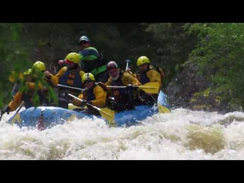 IPW18 Mountain Whitewater Rafting, Poudre River, Colorado - Unravel Travel TV