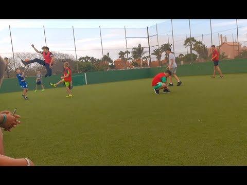 Football Match At Oasis Village - Fuerteventura